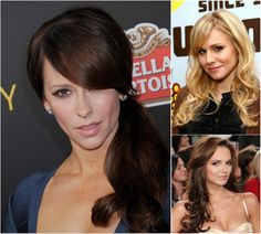 celebrity hairstyle with side bangs and cheap great extension for thin hair