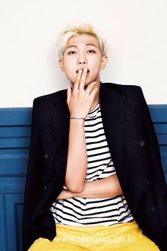 Rap Monster from Bts for 10 asia October issue