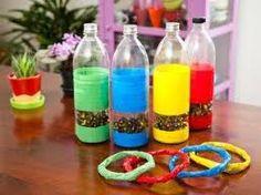 Resultado de imagen para juguetes de material reciclado para niñas