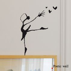 Poetic wall – Stickers texte et dessin « Poetic wall ®