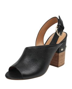 521f7cca1385c Marc Fisher LTD Waleis Leather Slingback Sandals