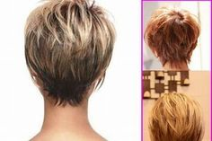 Short Stacked Hairstyles Back View Stacked Hairstyles Short
