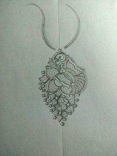 Pillos, Jewelry Design Drawing, Terracotta Jewellery, Fashion Jewellery Online, Jewelry Illustration, Indian Wedding Jewelry, Jewellery Sketches, Pendant Design, India Jewelry