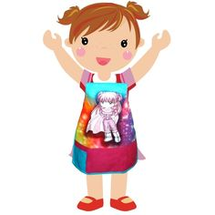 Super-girl Kids Apron - KAP-176