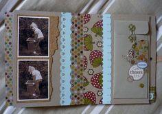 Un livre - Le blog de Tiss Mini Albums Scrap, Tampons, Blog, Notebook, The Notebook, Exercise Book, Scrapbooking