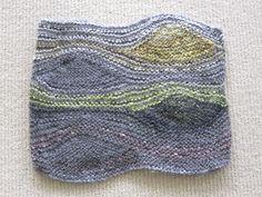 Ravelry: pfluffington's Turbulence Cowl  VanGogh colors tho