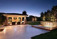Large Backyard Design Backyard Landscaping Urban Landscape Inc. Newport Beach, CA
