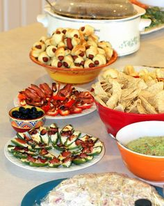 college graduation party ideas food