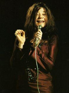 Janis Joplin, She always makes me Happy....