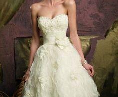 Vestido novia corto 5