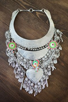 onceabluebird: Showcase #5: Hmong Tribal Necklace # 2