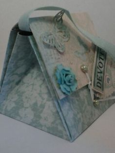 "custom made mothers day purse card by Dawning Day Creations ""Devoted"""