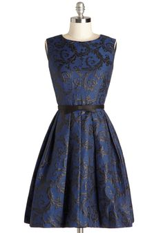 {Intricate Elegance Dress} #modcloth #ad *lovely with a little black sweater. I need this right now.