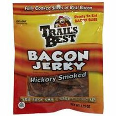Monogram Food Solutions Trails Best Hickory Bacon Jerky 2.75Oz
