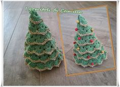 Crochet Christmas Trees, Christmas Crafts, Christmas Decorations, Christmas Ornaments, Holiday Decor, Sunburst Granny Square, Winter House, Xmas Tree, Camilla