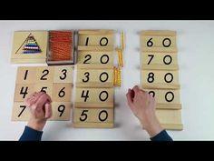 Con las Tablas de Seguin podemos trabajar las decenas del 10 al 99. Se presenta en una caja de madera, son dos tablas de madera, cada una contiene 9 tarjetas con los número impresos . Calendar, Holiday Decor, Youtube, Kids, Maths Area, Montessori Materials, Preschool Learning, Wooden Boards, Printable