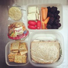 Airline food is kinda gross, plus all the snacks they offer are salty and will just dehydrate you even more. Pack some easy-to-transport snacks like raw veggies, nuts, and crackers, or have a look at these ideas. Also, we all know how atrocious the coffee and tea is on board. Bring some luxe teabags from home if you want that caffeine hit without the battery acid taste.