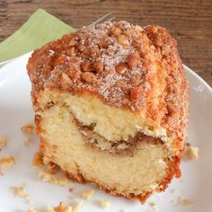 Walnut Coffee Cake, the perfect fall Comfort Cake. Full of the taste of.,Cinnamon Walnut Coffee Cake, the perfect fall Comfort Cake. Full of the taste of. Köstliche Desserts, Delicious Desserts, Muffins, Cake Recipes, Dessert Recipes, Breakfast Cake, Breakfast Recipes, Diabetic Breakfast, Food Cakes