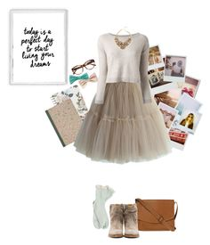 """""""Tutu"""" by lucie-cro ❤ liked on Polyvore featuring Polaroid, Fat Face, Isabel Marant, Linda Farrow, Band of Outsiders, Chicwish, Pinko and Kate Spade"""