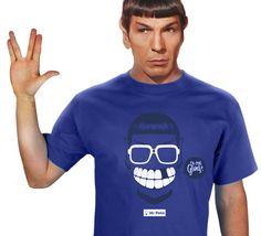 T-shirt Bleu Mr Poke | Ca c'est Gang