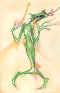 Lady Cottington's faeries - Brian Froud