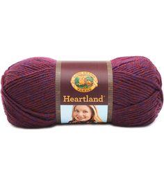 Lion Brand Heartland Yarn