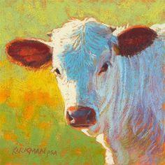 """Little Jack"" (pastel, 6x6 inches) - Original Fine Art for Sale - © by Rita Kirkman"