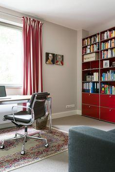 Gäertner Internationale Möbel #Arbeitszimmer #Drehstuhl #Alu Chair # Vitra #USM Haller #Bücherregal #Stauraum #Schreibtisch
