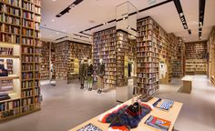 The Sonia Rykiel Flagship in Paris Has Been Transformed into a Library #business trendhunter.com