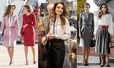 Queen Letizia of Spain and Queen Rania of Jordan: Style summit in Madrid