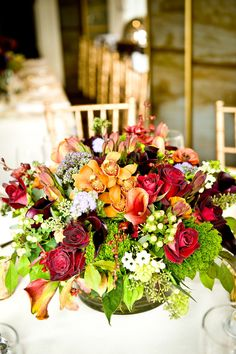 Centerpieces. Floral Design by thegreencottage.com