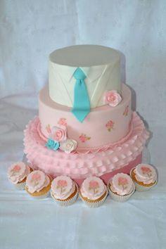 Romantic wedding cake Wedding Cakes, Birthday Cake, Romantic, Desserts, Wedding Gown Cakes, Birthday Cakes, Wedding Pie Table, Deserts, Wedding Cake
