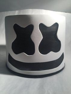 Marshmello Helmet Diy Tutorial Mello Head In 2019 Diy Costumes