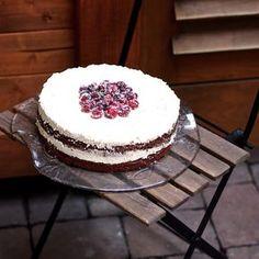 Laskominy od Maryny: Brownies dort s ořechy
