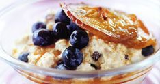 Pan-fried apple makes a sweet and tasty topping to this delicious, crunchy muesli.