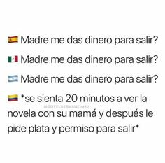 Funny Spanish Memes, Spanish Humor, Funny Messages, Sarcastic Humor, True Quotes, Country, Truths, Good Funny Jokes, Funny Humour