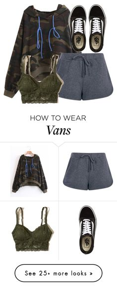 """""""Cora Inspired Lazy Day Outfit"""" by clawsandclothes on Polyvore featuring Boohoo, Hollister Co. and Vans"""