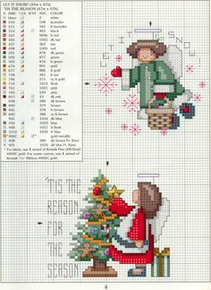 Cat Cross Stitches, Cross Stitch Angels, Xmas Cross Stitch, Cross Stitch Cards, Beaded Cross Stitch, Cross Stitch Baby, Cross Stitching, Cross Stitch Embroidery, Cross Stitch Christmas Ornaments