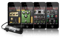 Amplitube iPhone UI