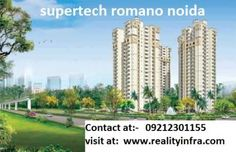 Time to settle in Rome within India, Supertech has brought an extra ordinary residential project Supertech Romano, the innovatively constructed this residential project has offered 2BHK and 3BHK flats which are fully loaded with luxurious amenities and lavishing comforts. The project has offered tremendous facilities and built in super glorious way and located in Noida.         Amenities:-     Supertech Romano         Vaastu Compliant         Venture Name: ...