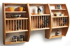 Add pizazz to your kitchen with contemporary curves. by Megan Fitzpatrick pages 40-44 For years, I've been trying to cajole Kelly Mehler to write an article for us on one of his many areas of woodworking expertise: building custom pieces that emphasize the beauty of carefully selected hardwoods. And I haven't given up on that quest – but one of his forms is just so appealing that I didn't want to wait for Kelly to be convinced in order for everyone to see it. So I built it (with Kelly's p...