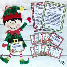 """With a little help from your elf, you can give behavior-specific praise all season long!   These Elf Positive Praise Notes were designed to help you """"catch your child being good"""" this holiday season."""
