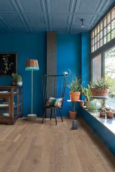 Podłoga drewniana Quick-Step Variano. Jak stworzyć wnętrze ekletyczne? - PLN Design
