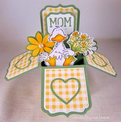 Sue's Stamping Stuff: Happy Mother's Day Box Cards!!