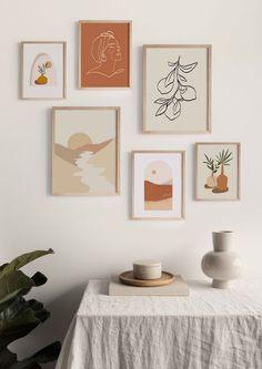 dolce vita collection set of 6 prints   digital art instant download   printable art   home decor  