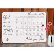Personalised  The  Day  You  were  born  GlassBlock for Personalized Gifts