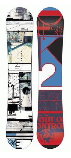 K2 Snowboard design