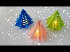 Christmas Tree With Paper | 3D Paper Christmas Tree | DIY Christmas Tree - YouTube