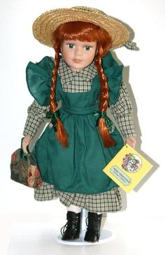 Dolls | Anne of Green Gables Porcelain Doll 16 Inches