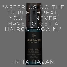 This new product will nix split ends for good! The trick is that the cream seals repairs and protects so it's proactive and reactive. Not to mention its musky patchouli scent which is totally intoxicating. Grab yours now on Folica.com and see split ends vanish before your eyes! @ritahazan #folicafaves #splitends #hairstylist #hair101 #hairhacks #hairgoals #hairofinstagram by folica
